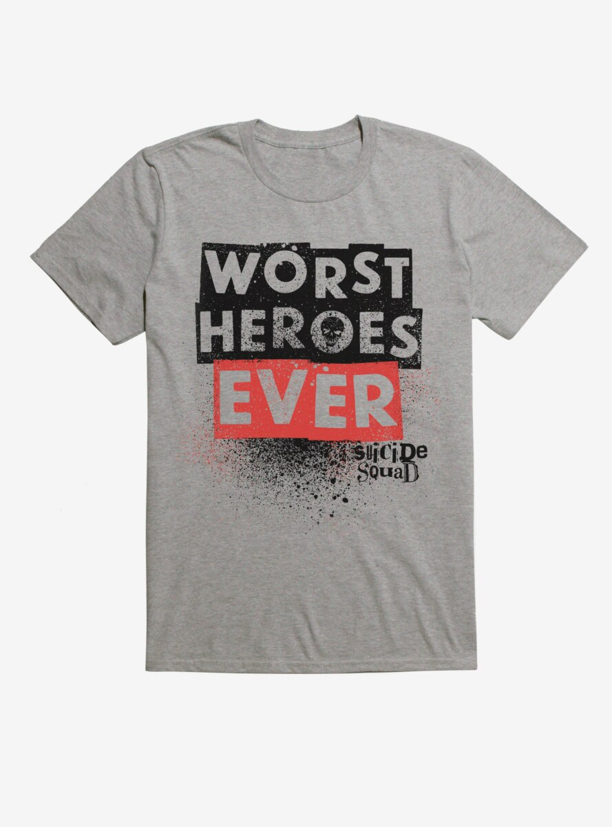 DC Comics Suicide Squad Worst Heroes Ever T-Shirt