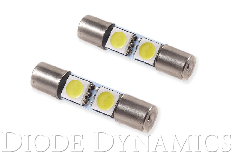Diode Dynamics DD0048Q 28mm SMF2 LED Bulb Red Set of 4