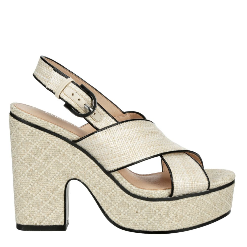 Limelight Womens Heather Platform Sandal Dress Sandals