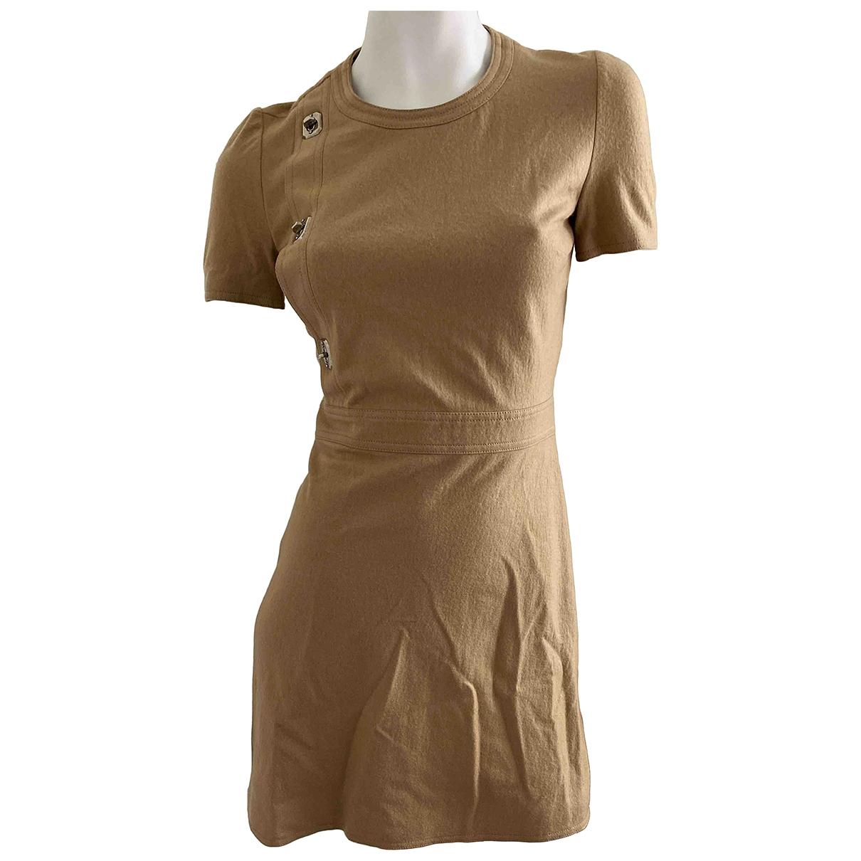 Gucci \N Kleid in  Beige Wolle