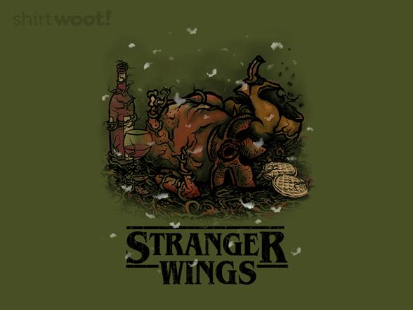 Stranger Wings T Shirt