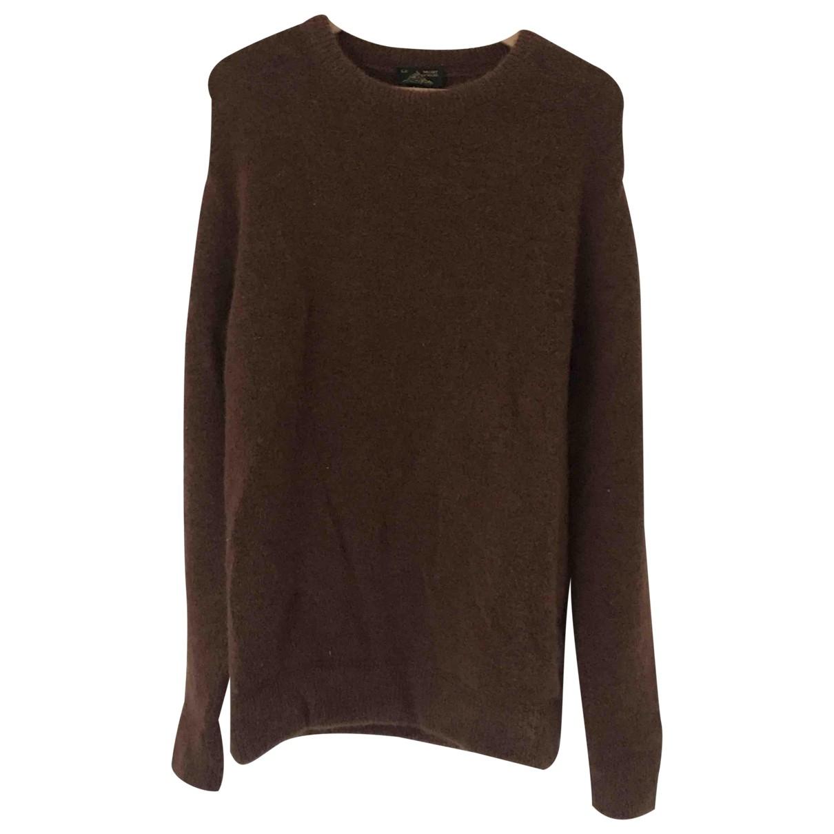 Le Mont Saint Michel \N Pullover.Westen.Sweatshirts  in  Braun Wolle