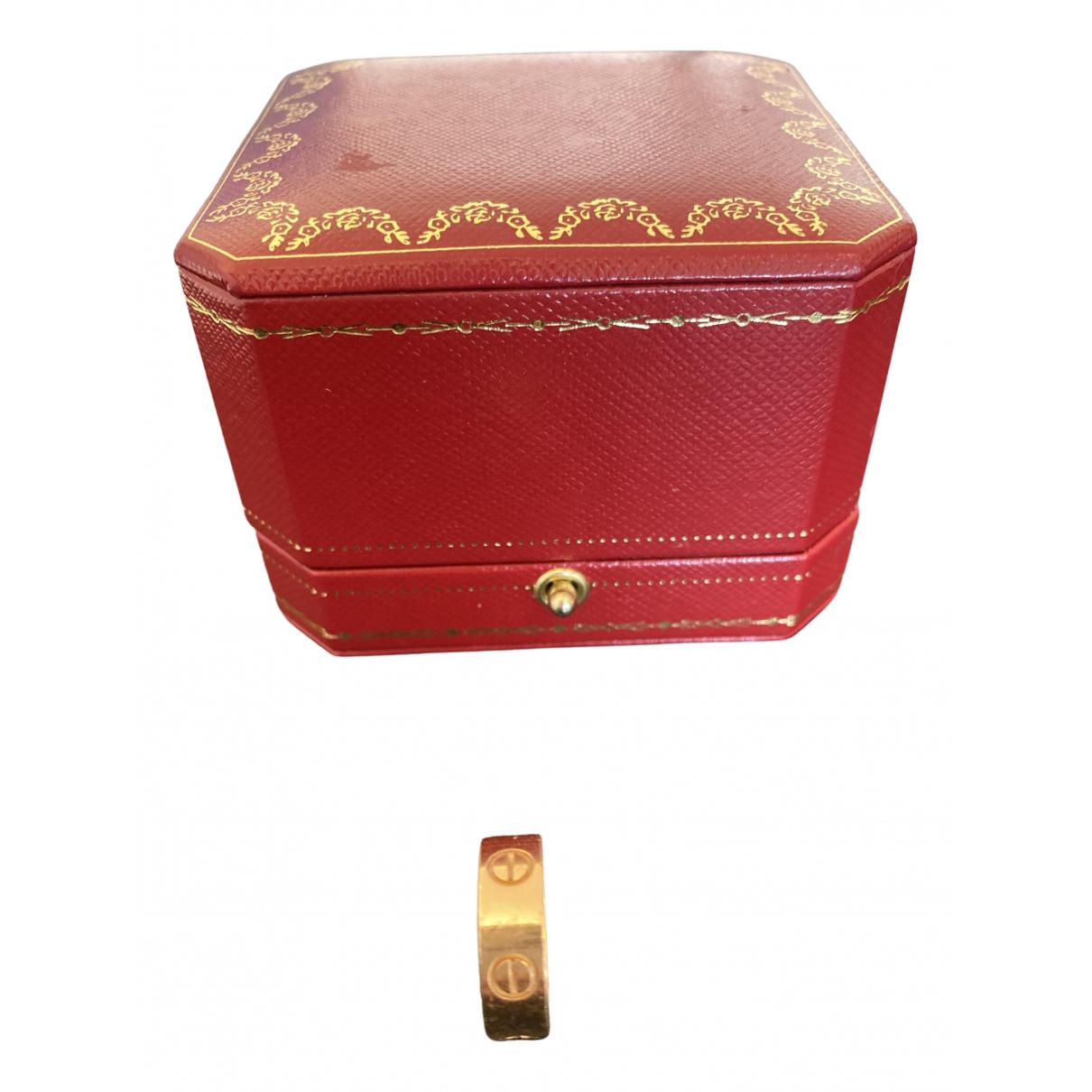 Cartier Love Gold Pink gold ring for Women 48 EU