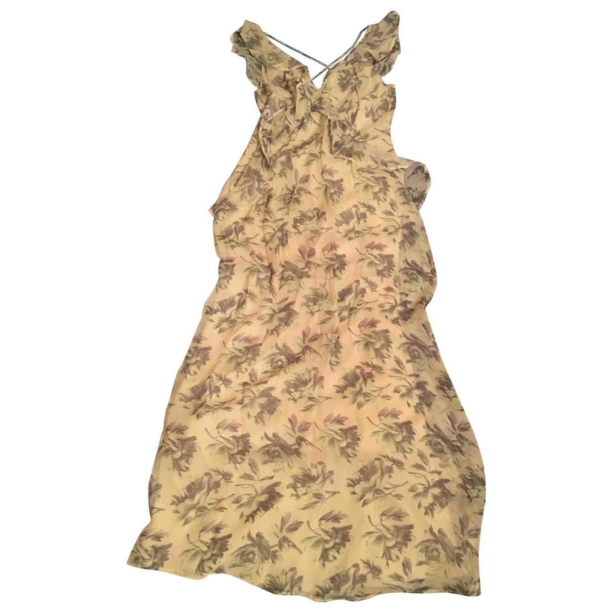 Asos - Robe   pour femme - jaune