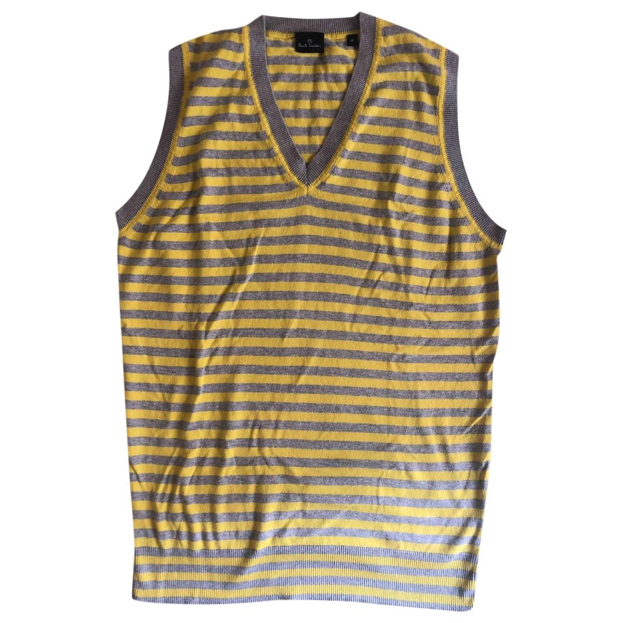 Paul Smith - Pulls.Gilets.Sweats   pour homme en coton - jaune