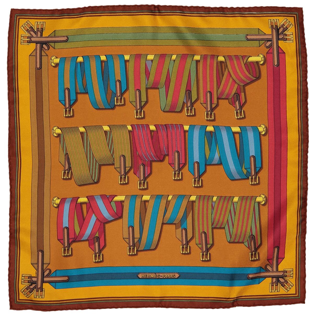 Hermes - Lifestyle   pour homme en soie - multicolore