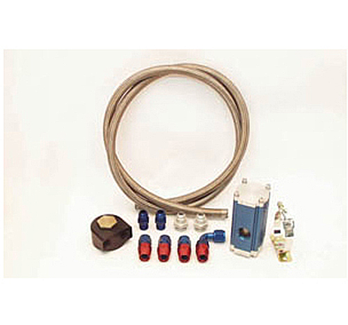 Canton Racing Remote Canister Filter Kit 13/16-16 Thread - 3 1/4 Gasket