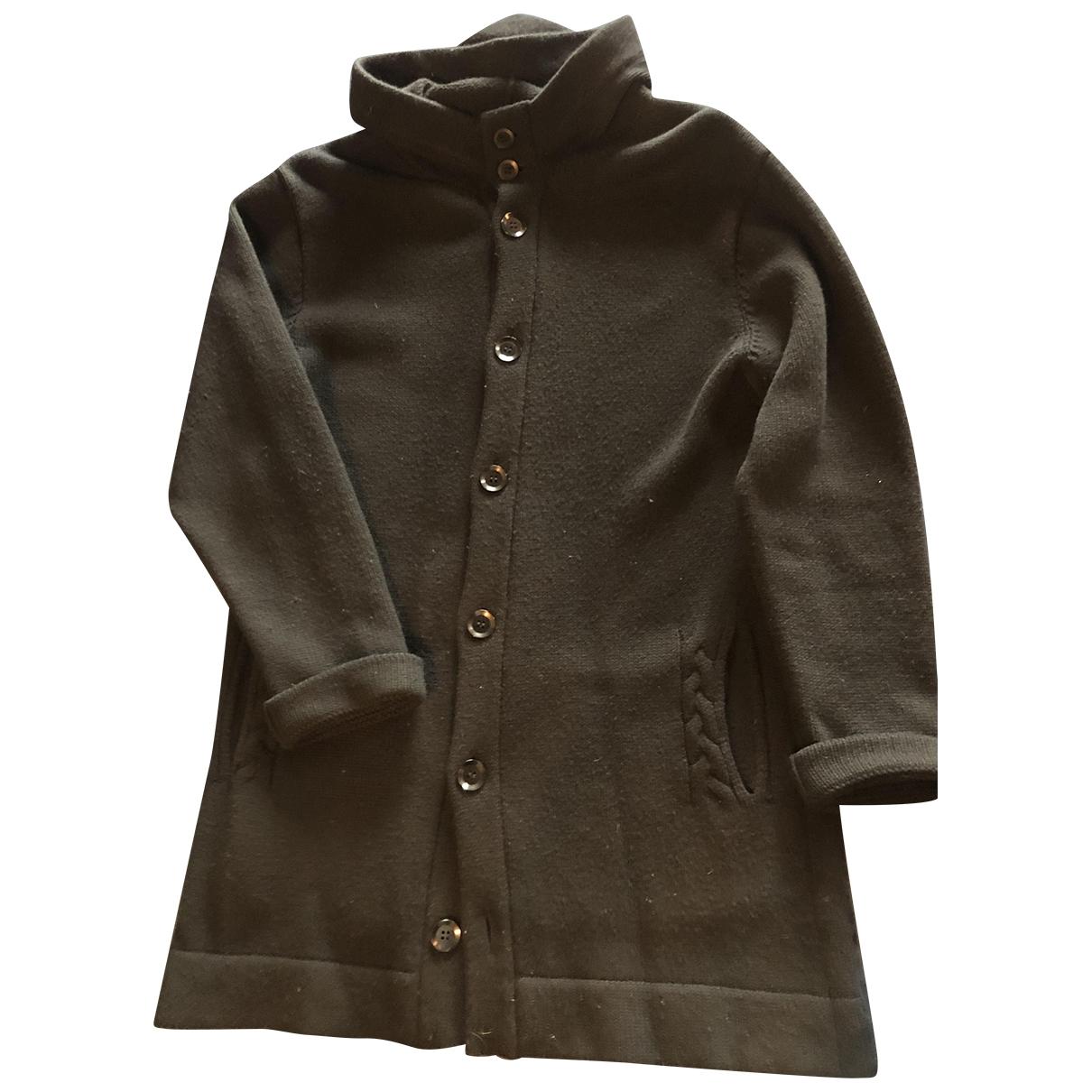Yohji Yamamoto \N Black Wool coat  for Men L International