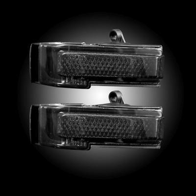 RECON LED Side Mirror Lenses - 264244AMBK