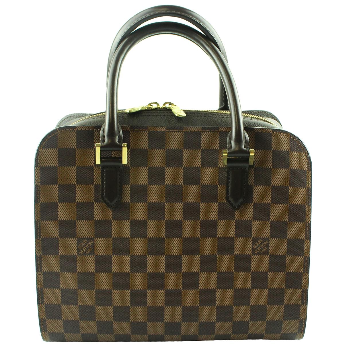Louis Vuitton Triana Brown Cloth handbag for Women \N