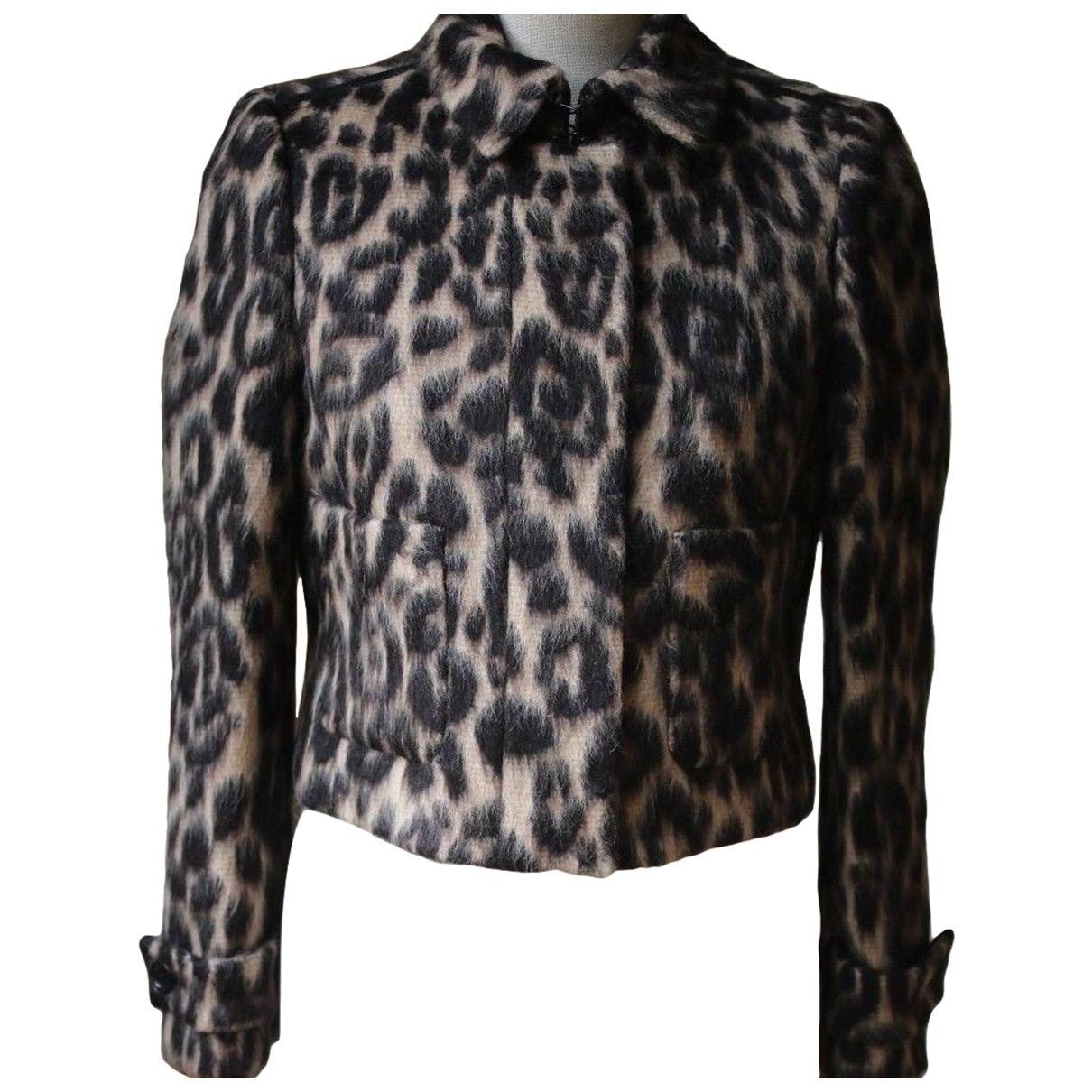 Burberry N Brown Wool jacket for Women 2 US