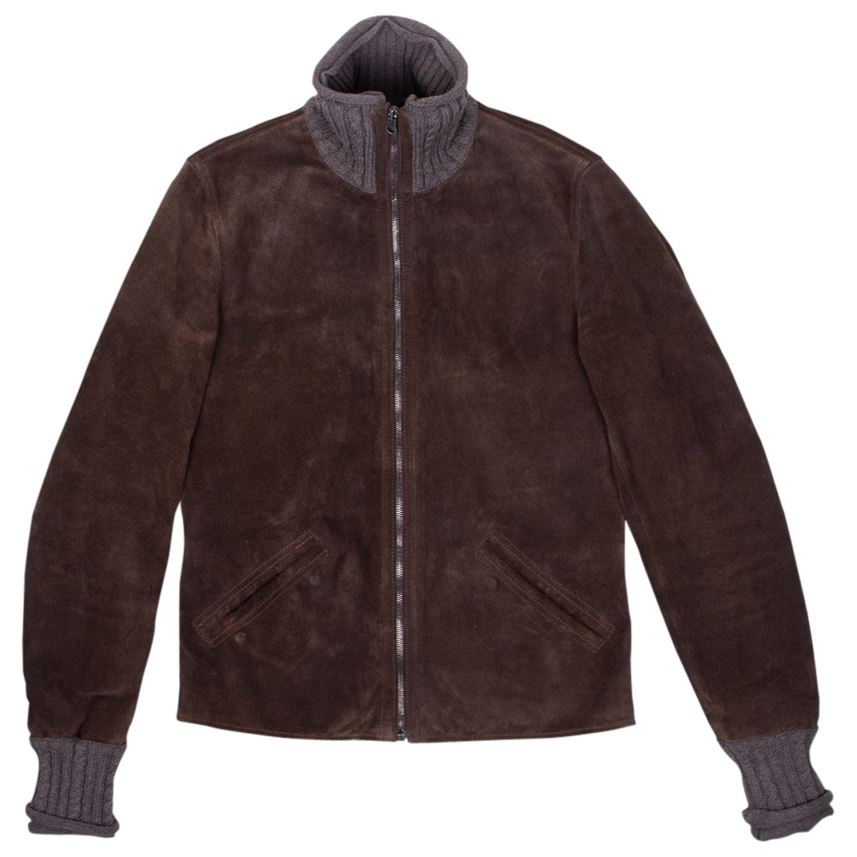 Dolce & Gabbana \N Brown Suede jacket  for Men 48 IT