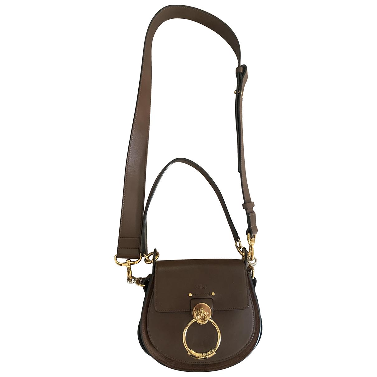 Chloé Tess Brown Leather handbag for Women \N