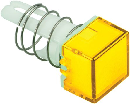 Idec Yellow Square Push Button Lens for use with A8 Series (5)
