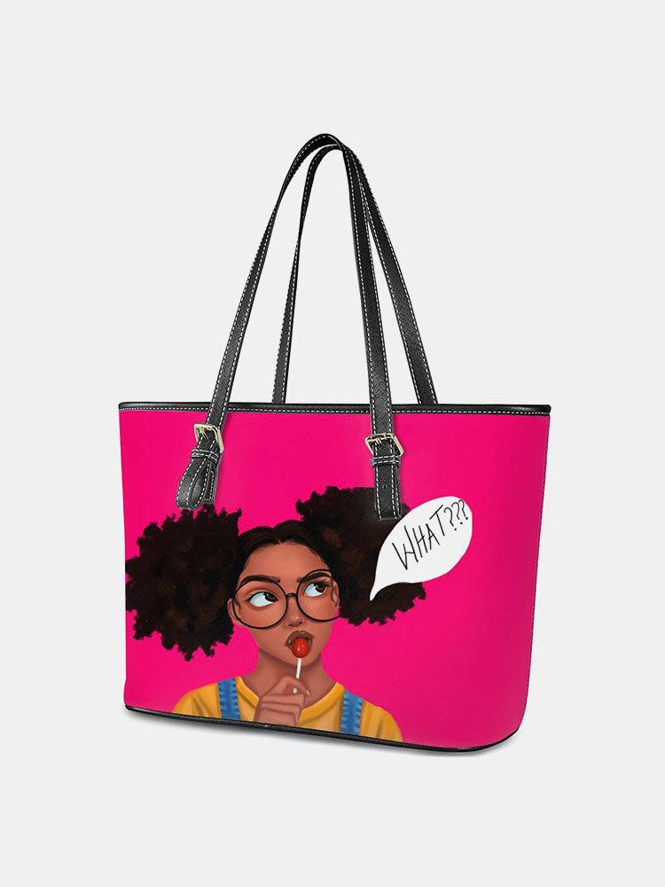 Women Girl Large Capacity Handbag Tote
