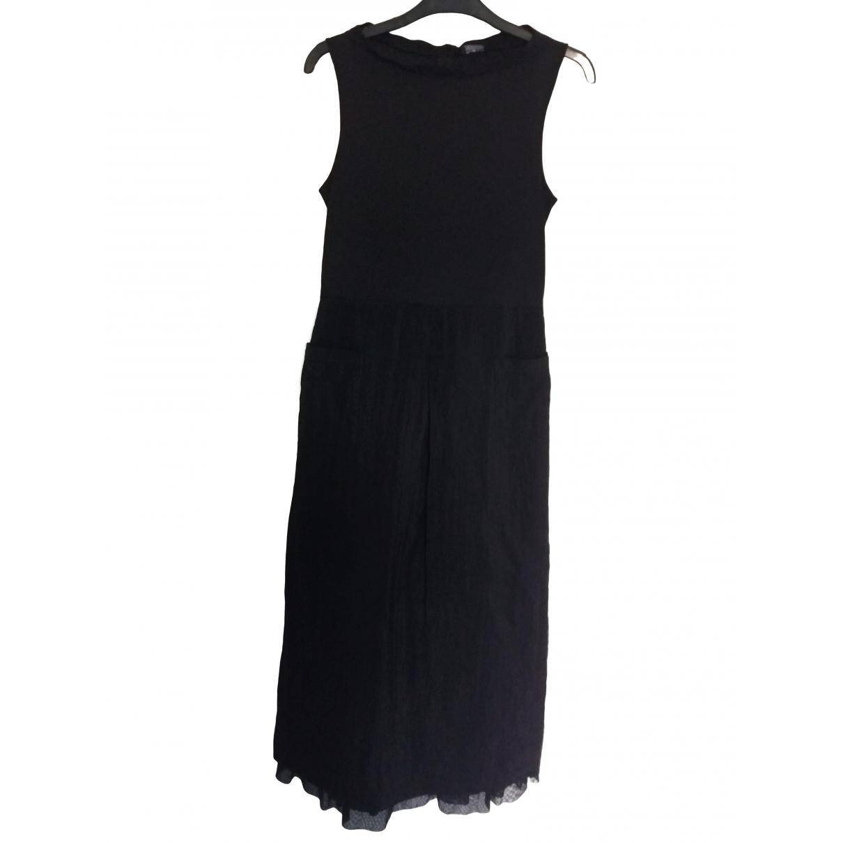 One Step \N Kleid in  Schwarz Viskose
