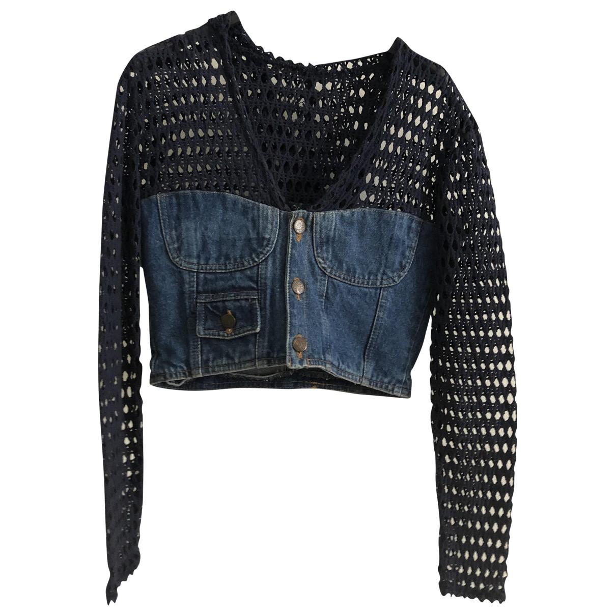 Non Signé / Unsigned \N Blue Denim - Jeans jacket for Women 42 IT