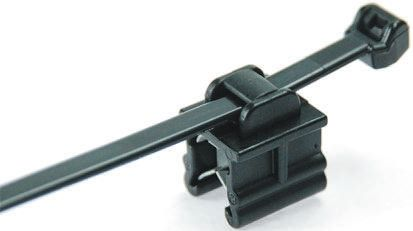 HellermannTyton Grey Nylon 66 Cable Tie Assemblies200mm x 4.6mm