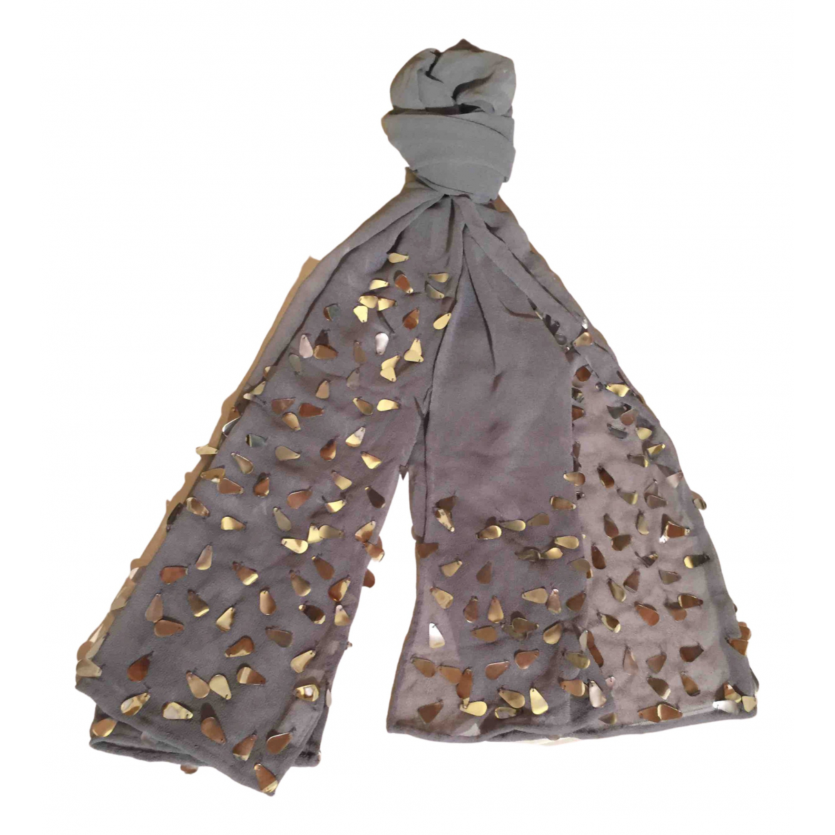 Stefanel \N Schal in  Grau Polyester