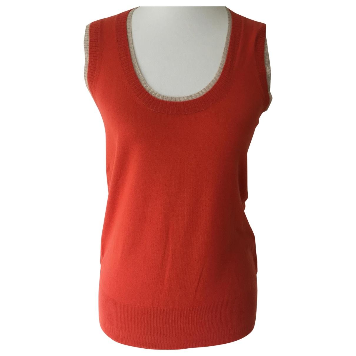 Etro \N Orange Cashmere  top for Women 44 IT