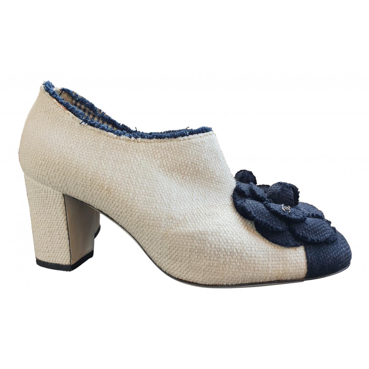 Chanel \N Cloth Boots for Women 39 EU