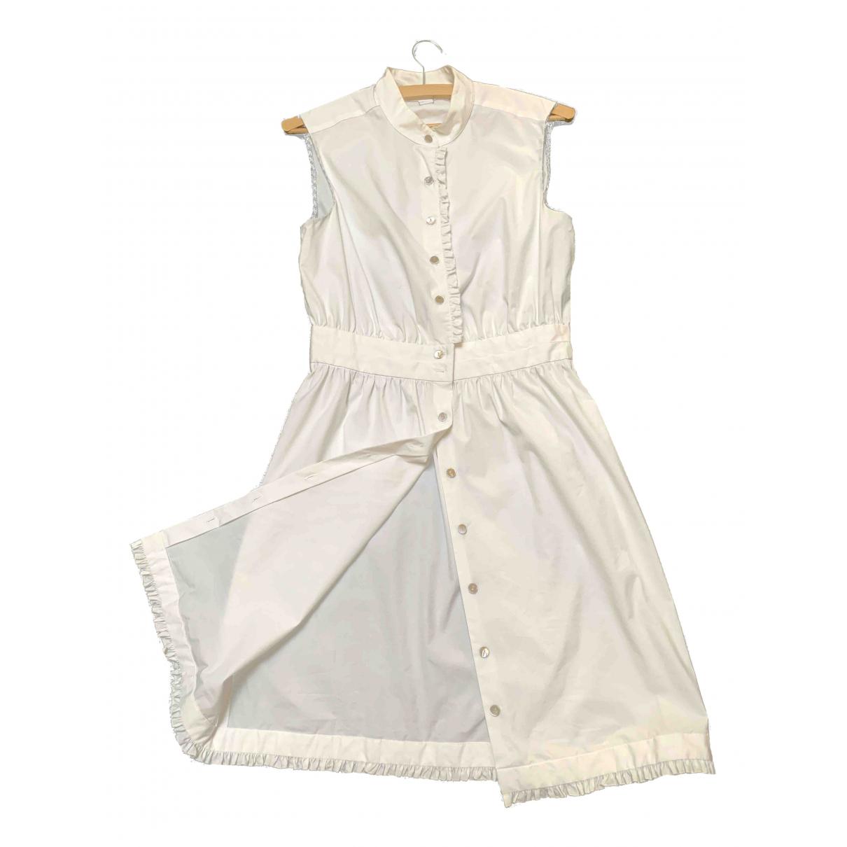 Diane Von Furstenberg N White Cotton - elasthane dress for Women 4 UK