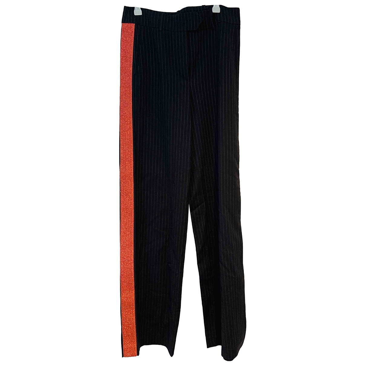 Mira Mikati \N Navy Trousers for Women 34 FR