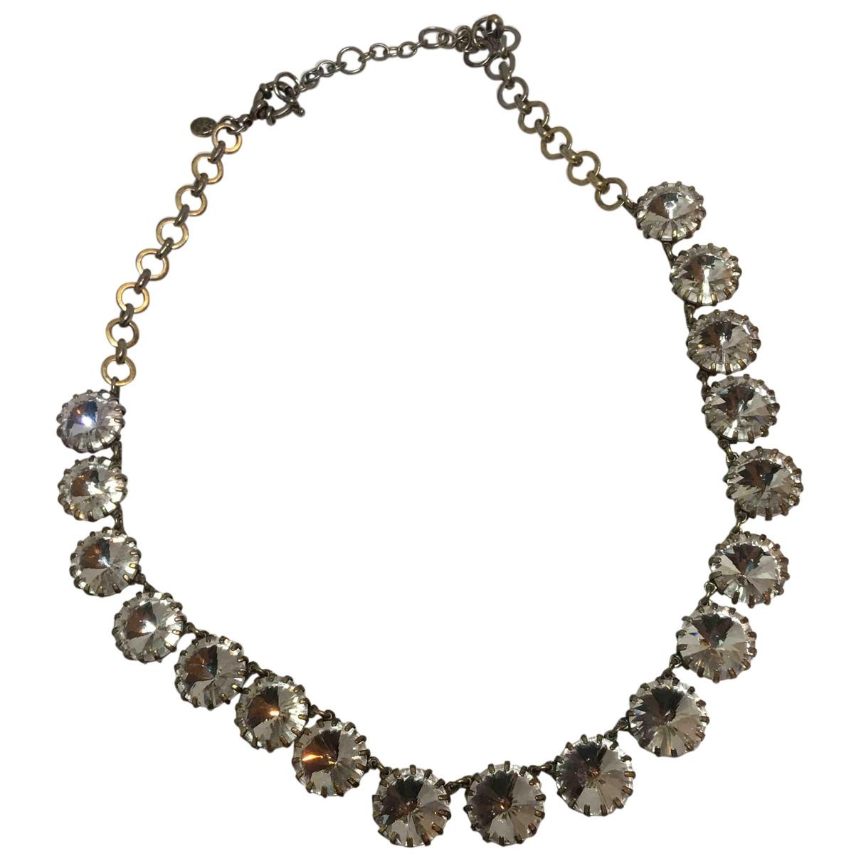 J.crew N Metallic Crystal necklace for Women N