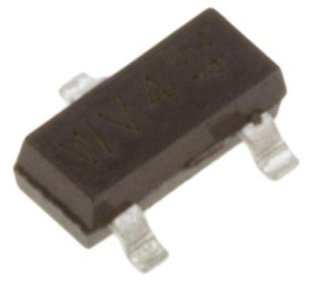 Nexperia 30V 200mA, Dual Schottky Diode, 3-Pin SOT-23 BAT54S,215 (5)