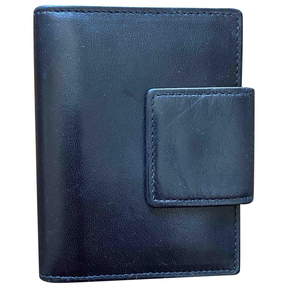 Prada - Portefeuille   pour femme en cuir - noir