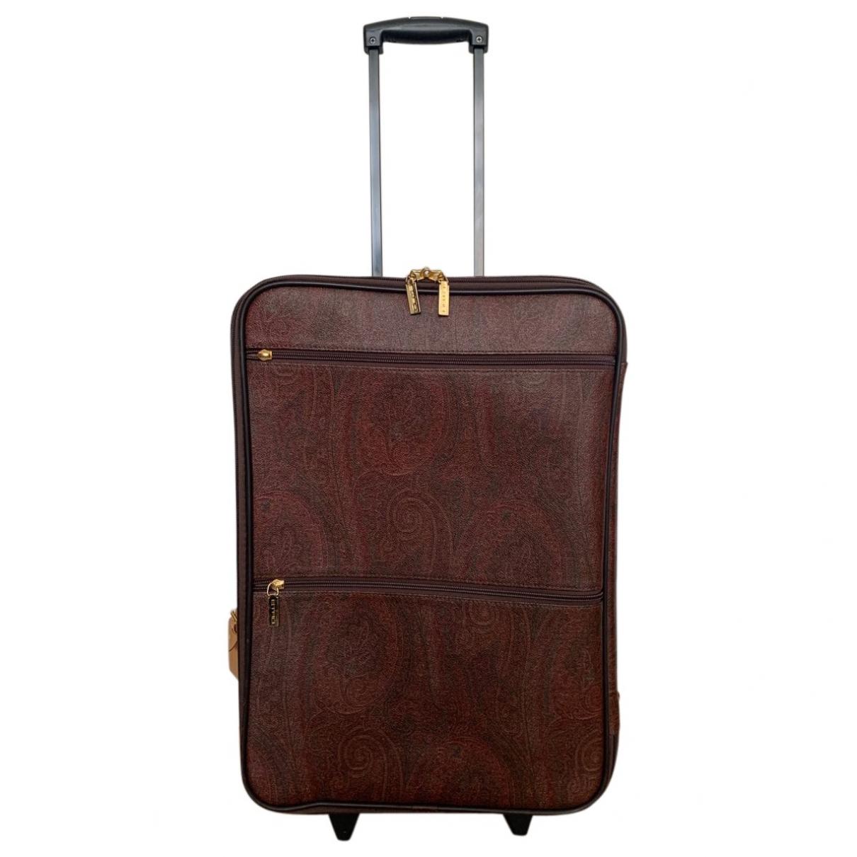 Etro \N Leather Travel bag for Women \N