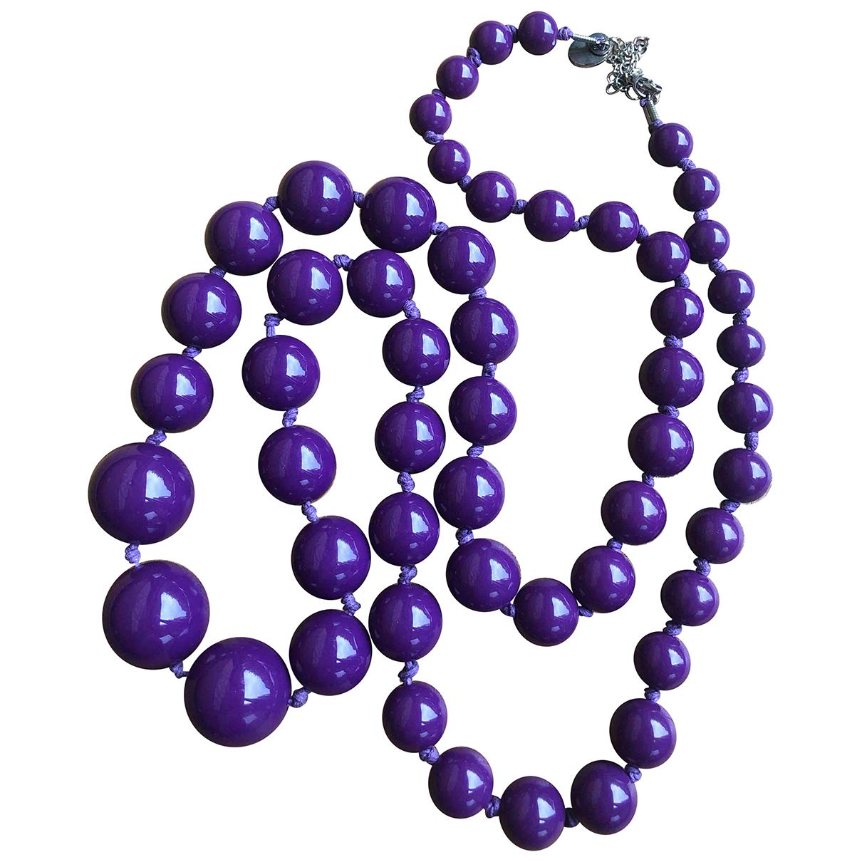 Furla - Collier   pour femme - violet