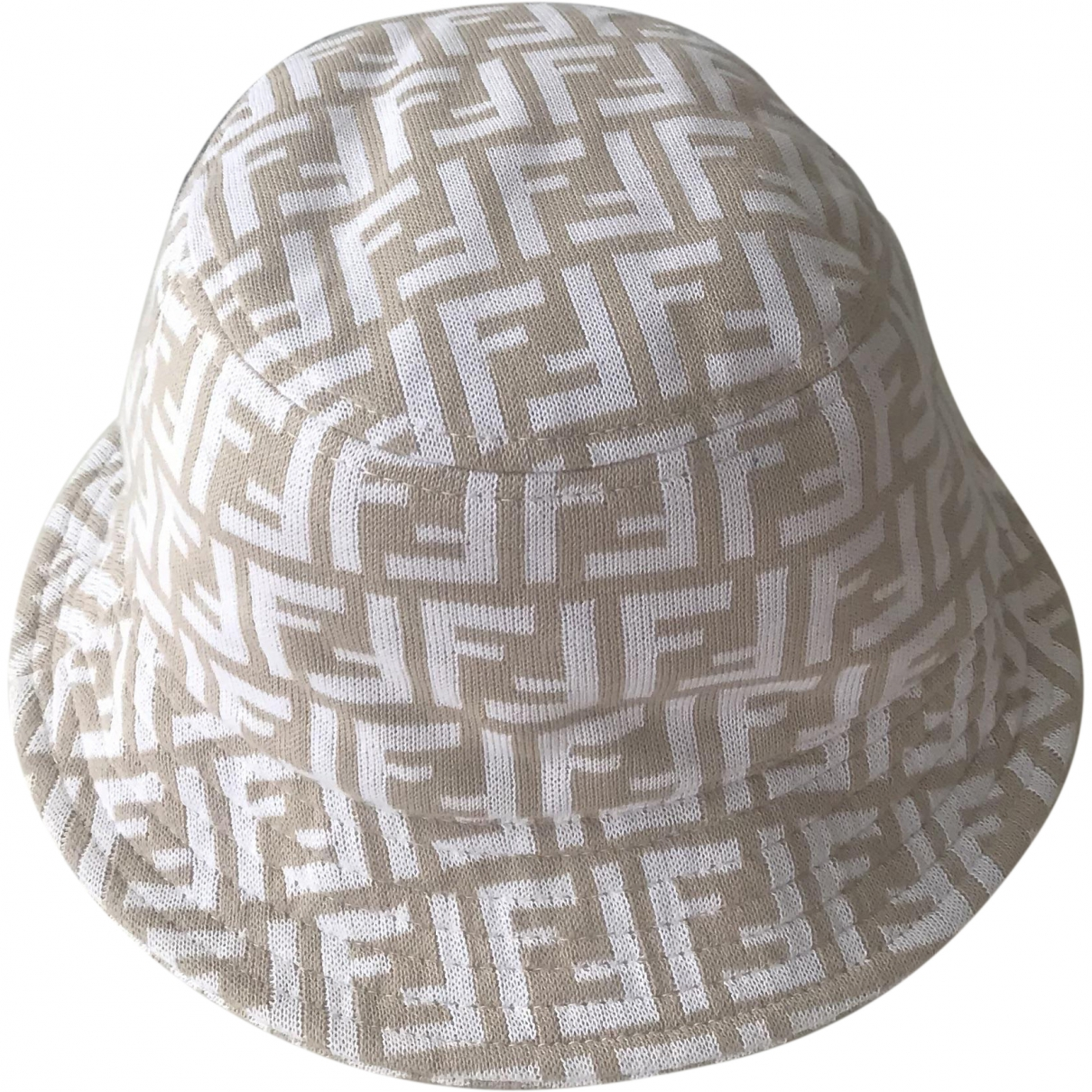 Fendi \N Beige Cloth hat for Women M International