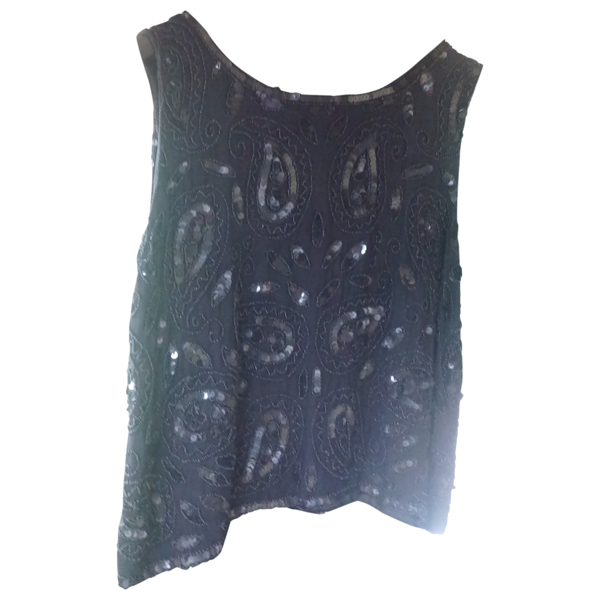 Non Signé / Unsigned \N Black Glitter dress for Women 44 IT