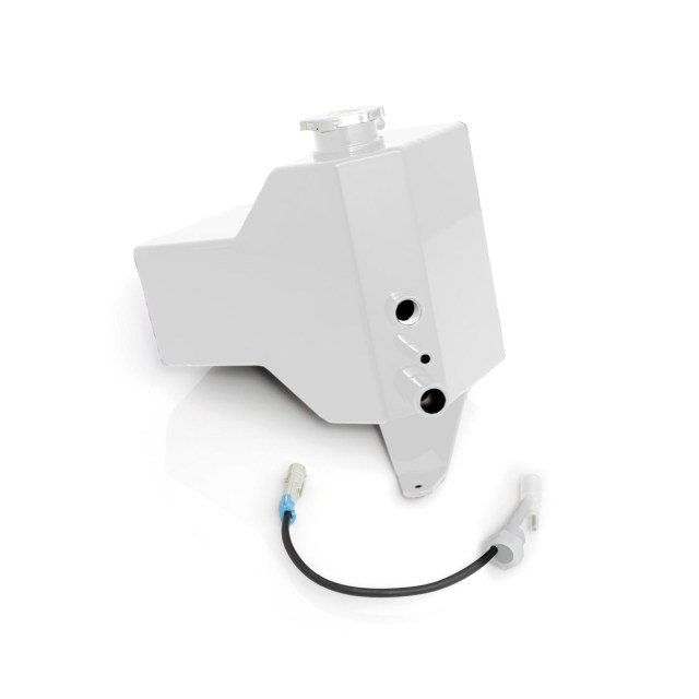 2001-2007 Chevrolet / GMC Factory Replacement Coolant Tank White HSP Diesel 027-HSP-W