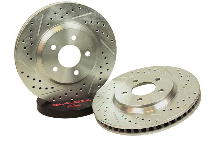 Baer Brakes Rotor Pair Honda