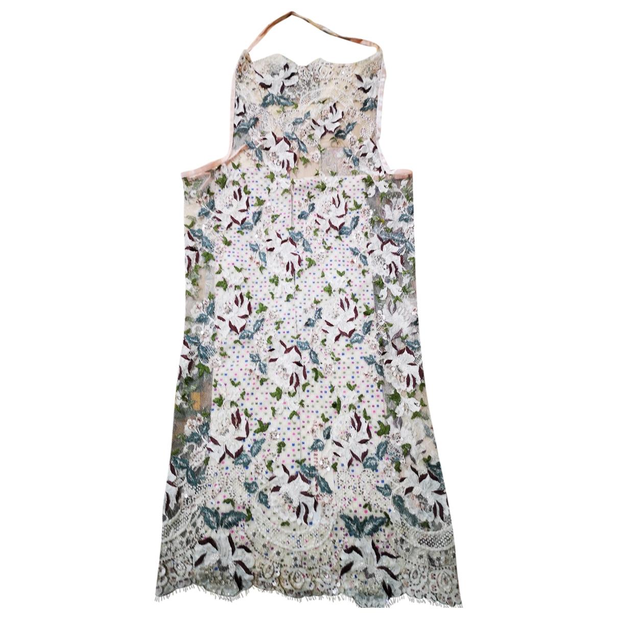 Antonio Marras \N Kleid in  Beige Spitze