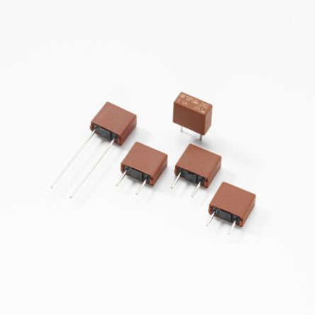 Littelfuse 1A PCB Mounts for 8.5 x 4 x 8mm, 250V (10)
