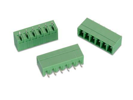 Wurth Elektronik , WR-TBL, 321, 9 Way, 1 Row, Vertical PCB Header (240)
