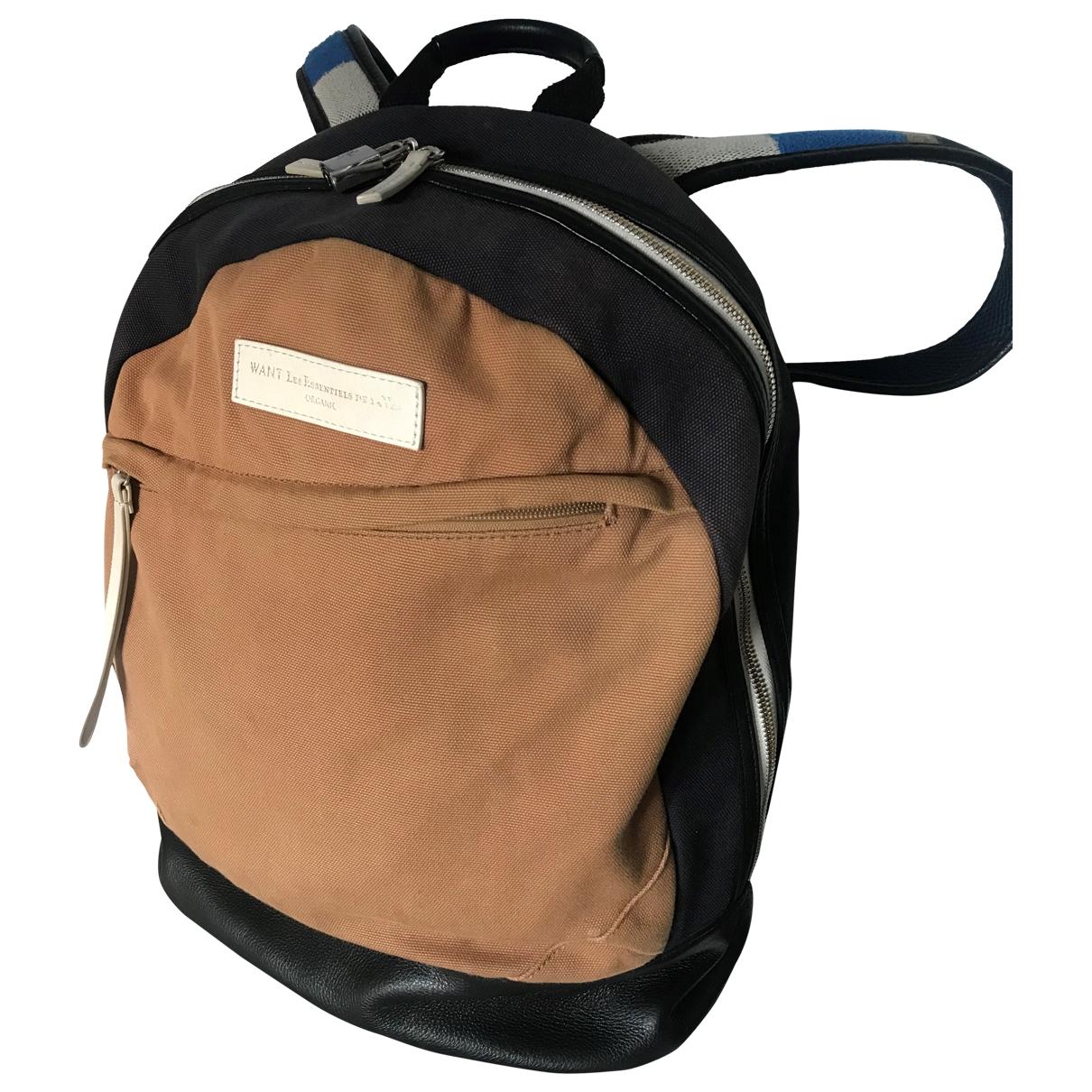 Want Les Essentiels De La Vie \N Beige Cotton bag for Men \N