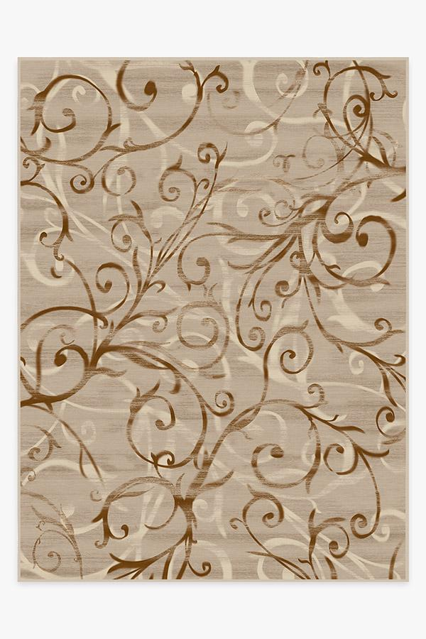 Washable Rug Cover | Ironwork Natural Rug | Stain-Resistant | Ruggable | 9'x12'