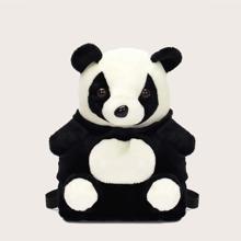 Girls Panda Design Backpack
