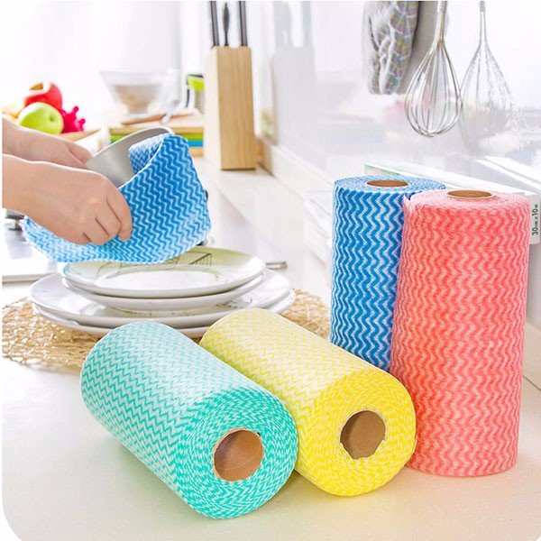 House Cleaning Cloth Kitchen Dishcloth Multipurpose Wiping Rags Bathroom Washing Towel