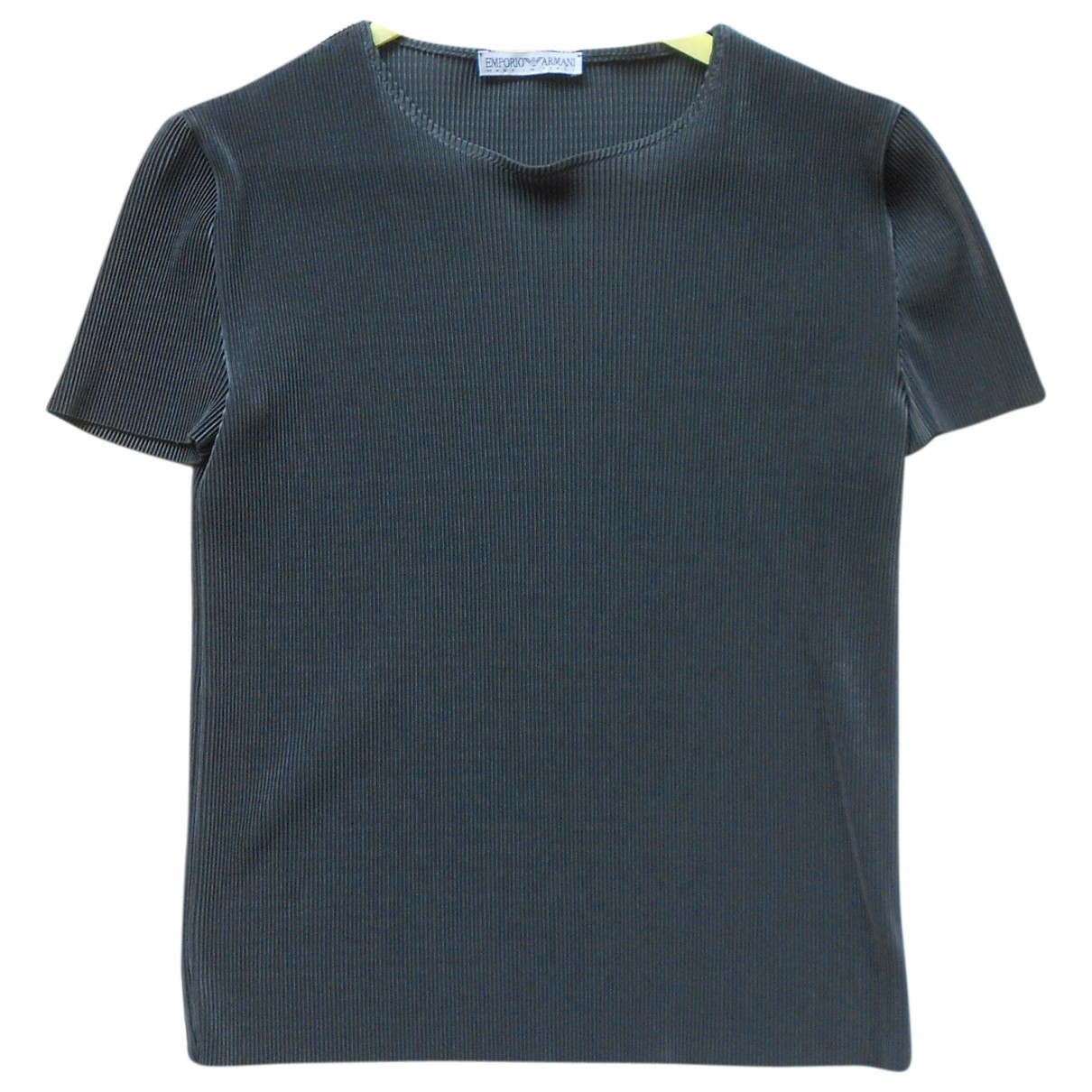 Emporio Armani \N Anthracite  top for Women 38 FR
