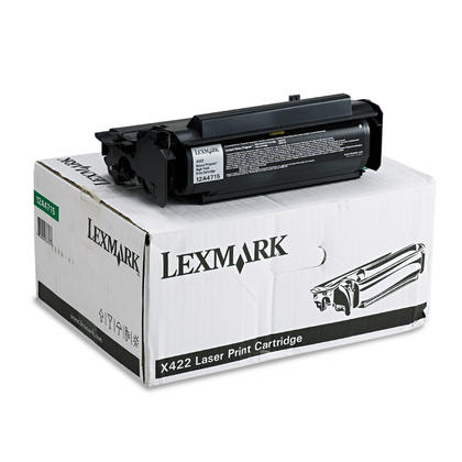 Lexmark 12A4715 Original Black Return Program Toner Cartridge High Yield