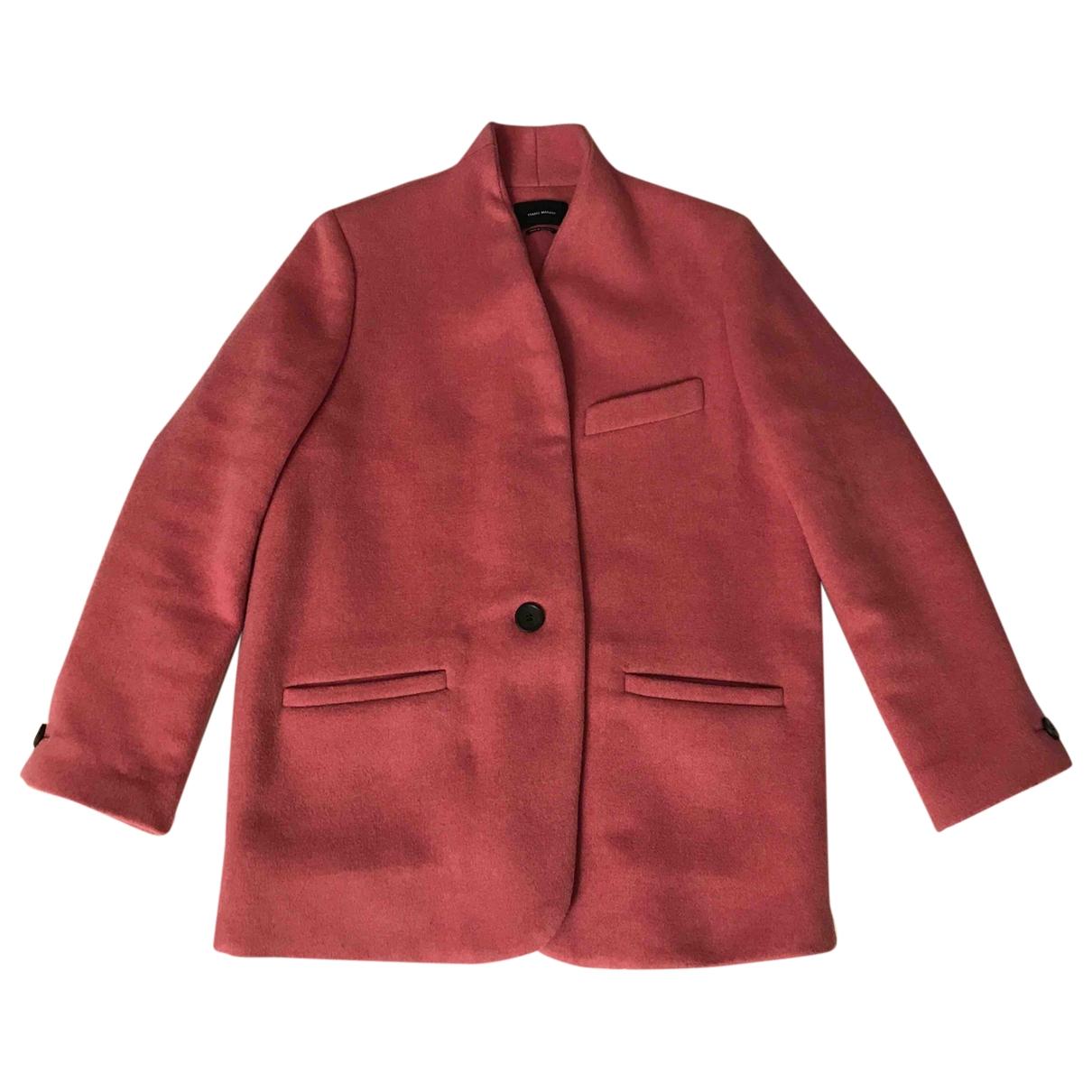 Isabel Marant \N Pink Cashmere jacket for Women 38 FR