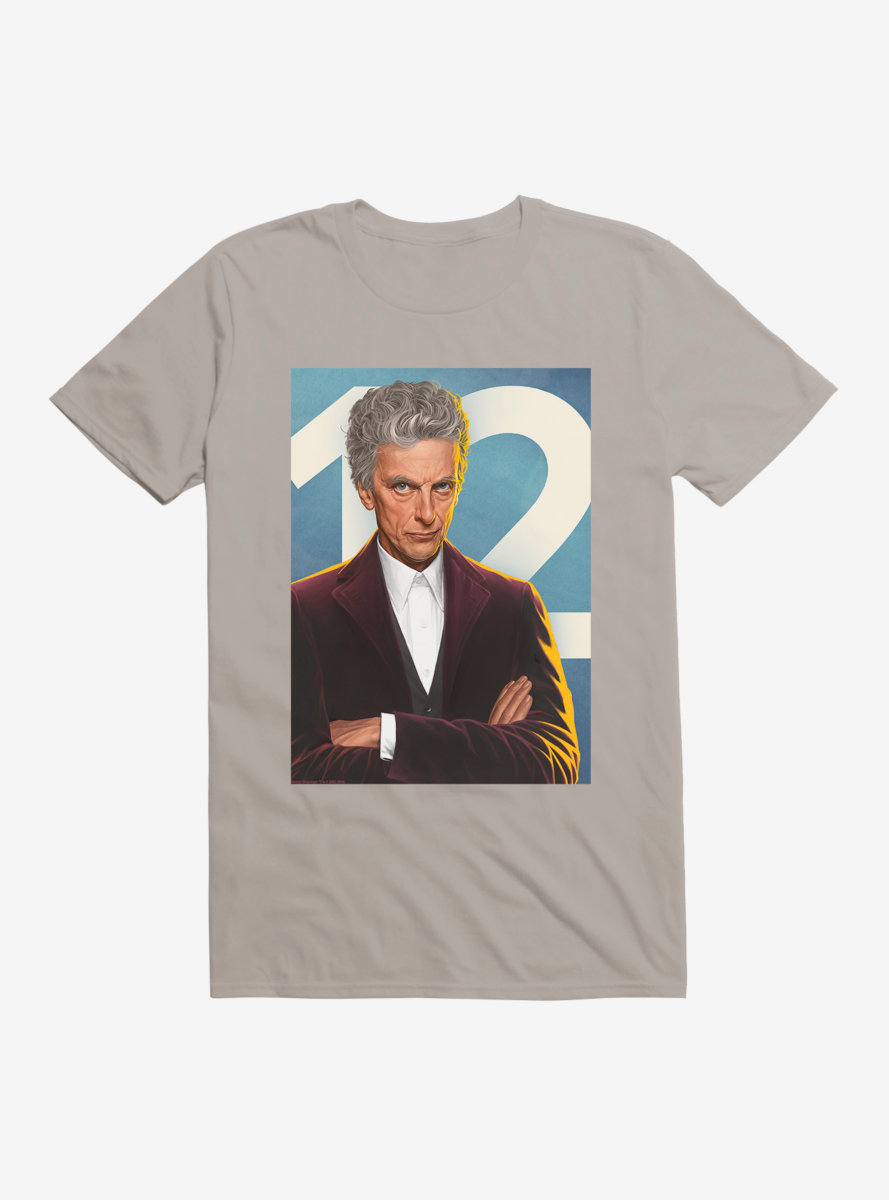 Doctor Who Twelfth Doctor Ready For Action T-Shirt