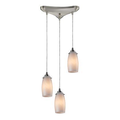 10223/3COC Favelita 3 Light Pendant in Satin