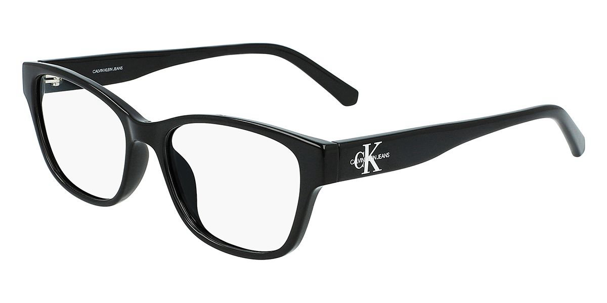Calvin Klein Jeans CKJ20636 001 Women's Glasses Black Size 52 - Free Lenses - HSA/FSA Insurance - Blue Light Block Available