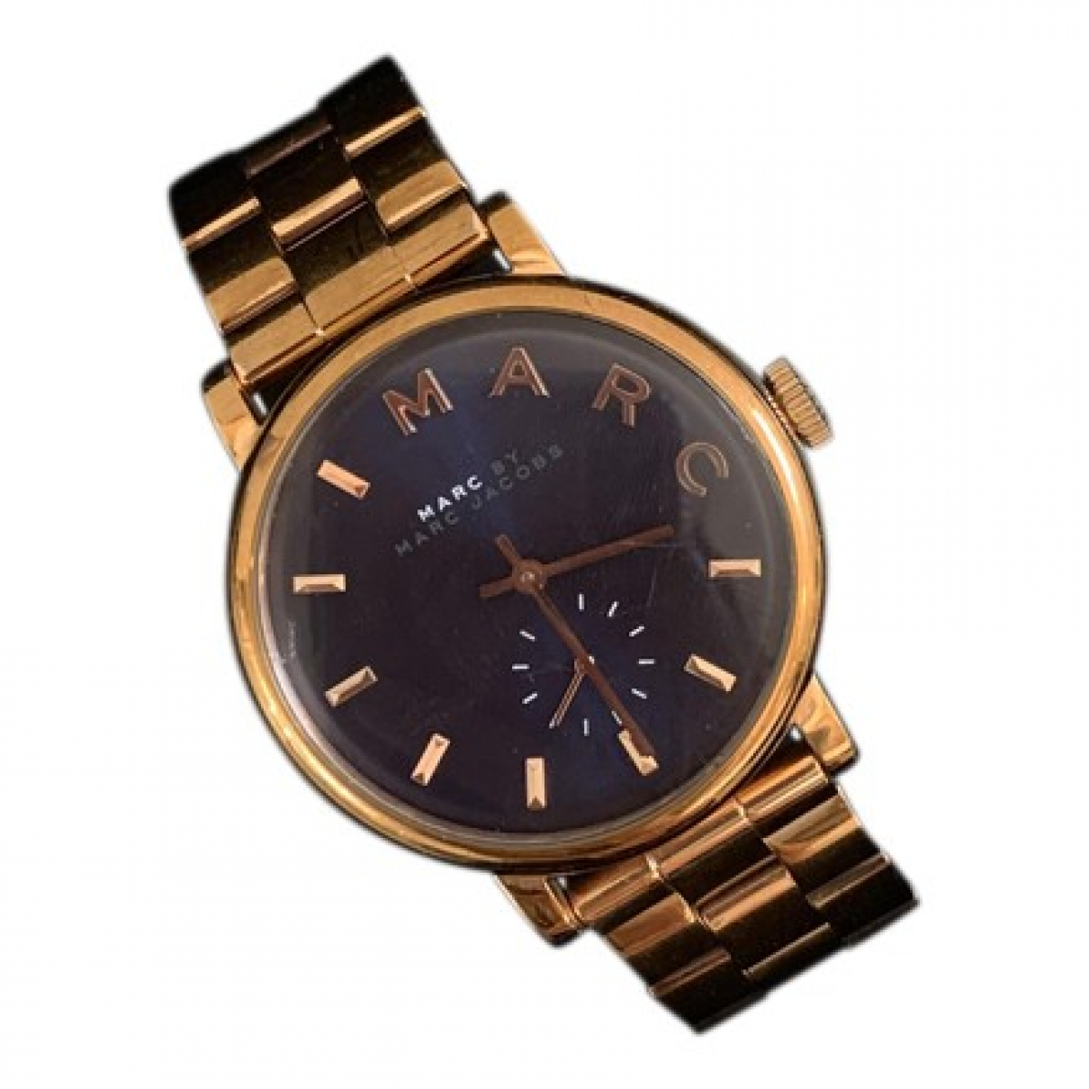 Marc By Marc Jacobs \N Uhr in  Marine Stahl